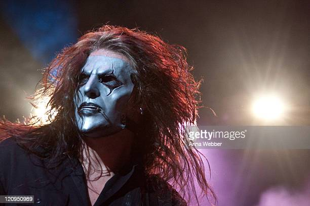 Jim Root of Slipknot performs at The Cypress Hill Smokeout on October 24 2009 in San Bernardino California