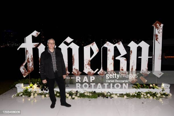 Jim Roppo attends Lil Wayne's Funeral album release party on February 01 2020 in Miami Florida