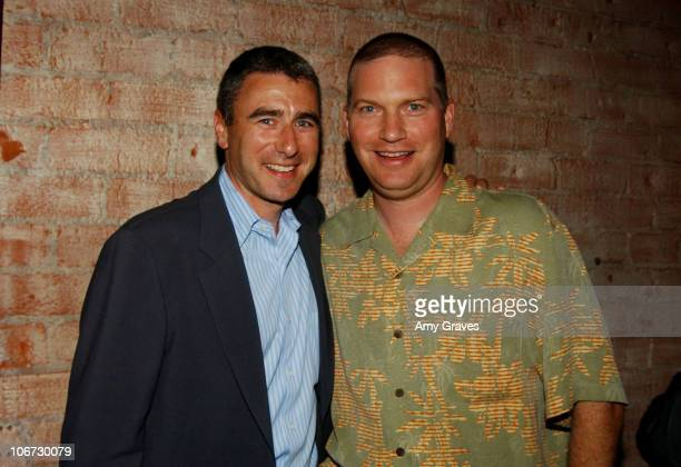 Jim Rosenthal president of New Line Television and Jon Kroll senior vice president of Television and executive producer of 'Amish in the City'