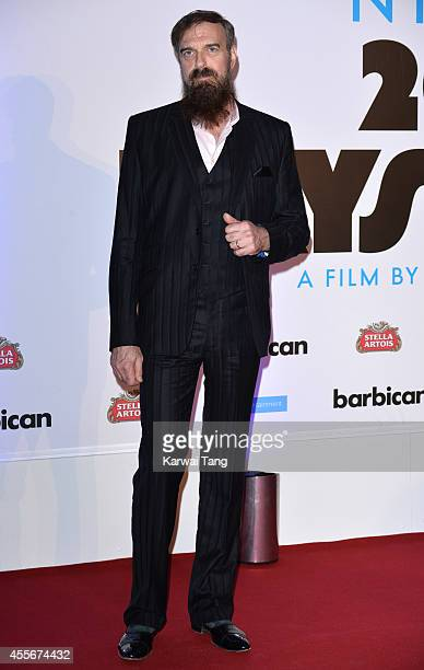 """Jim Sclavunos attends the """"20,000 Days on Earth"""" screening at Barbican Centre on September 17, 2014 in London, England."""
