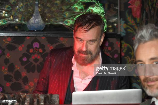 Jim Sclavunos attends the Nick Cave The Bad Seeds x The Vampires Wife x Matchesfashioncom party at Loulou's on November 22 2017 in London England