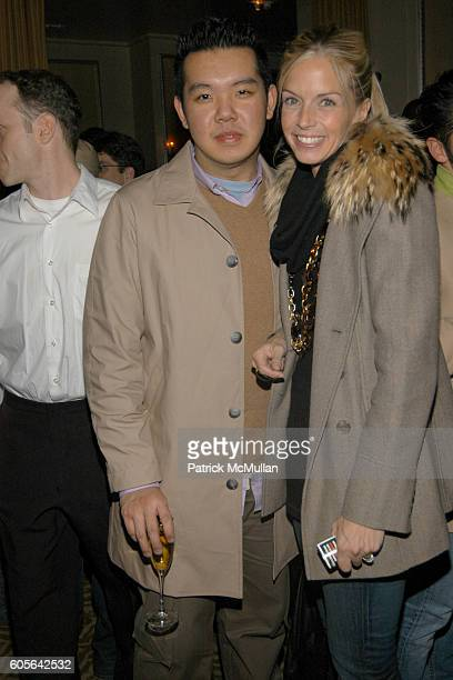 Jim Shi and Meredith Melling Burke attend Afterparty for the MARC JACOBS Fall 2006 Fashion Show at 24 Fifth Ave on February 6 2006 in New York
