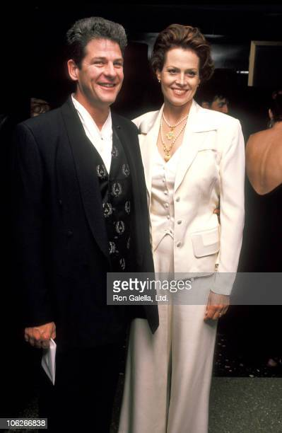 Jim Simpson and Sigourney Weaver during 4th Annual IFP Gotham Awards at Roseland in New York City New York United States