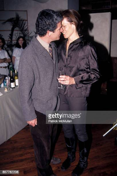 Jim Simpson Sigourney Weaver Winter Season of Filmmaking in New York Party Tribeca Grill NYC January 14 1996