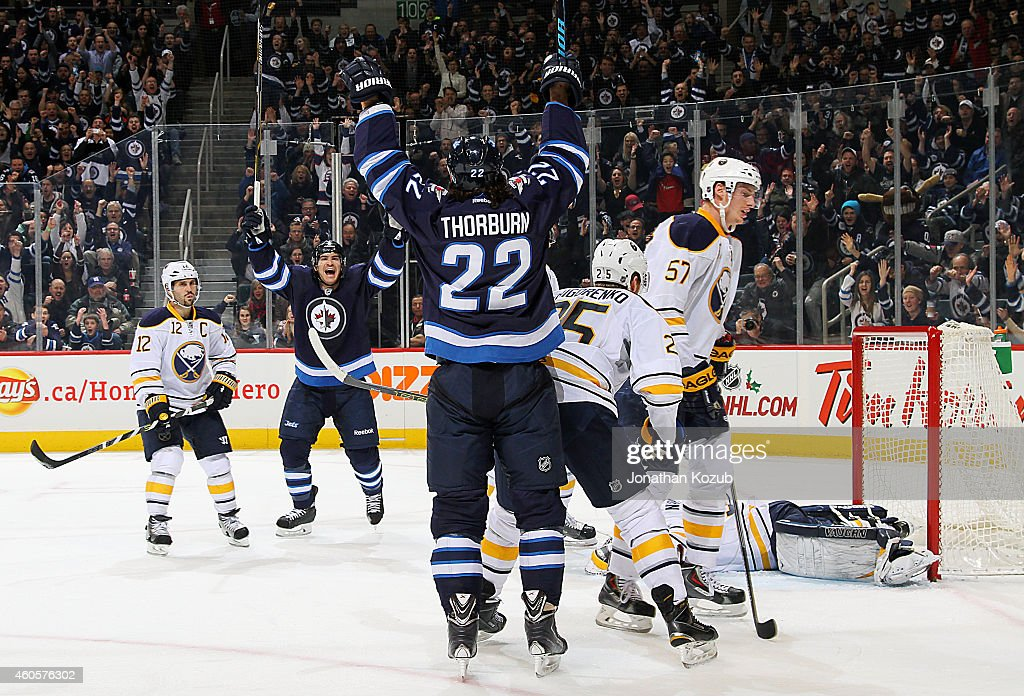 Buffalo Sabres v Winnipeg Jets