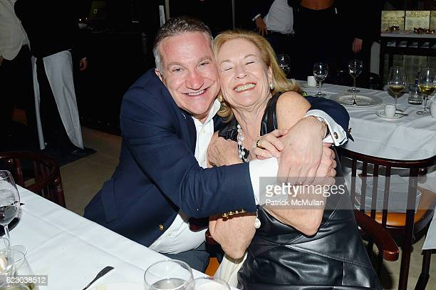 Jim Spencer and Emma Graham attend The Warhol Dinner @ MR CHOW at Mr Chow in Tribeca on November 12 2016 in New York City