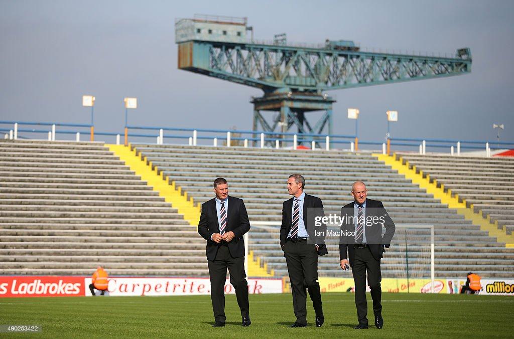 Greenock Morton FC v Rangers - Scottish Championship