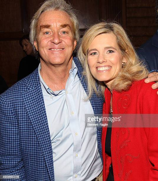 Jim Steyer CEO/ Founder of Common Sense Media and Kelly Wallace of CNN attend the Eight To Eighteen Common Sense Media's Annual NY Luncheon at Gotham...