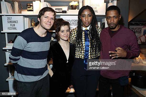 Jim Strouse Noel Wells Jessica Williams and Keith Stanfield attend the Creators League Studio At 2017 Sundance Film Festival Day 1 2017 Sundance Film...
