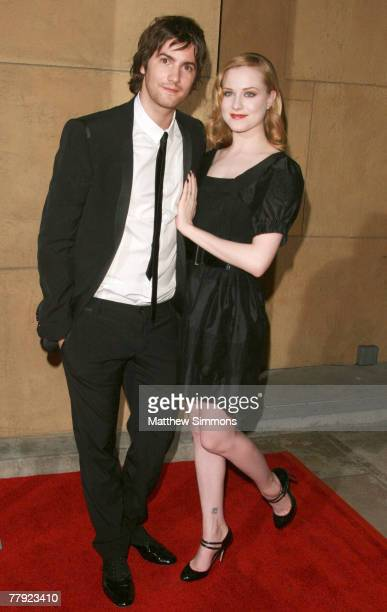 Jim Sturgess and Evan Rachel Wood arrives to a screening of Across the Universe at the Egyptian theatre on September 18 2007 in Hollywood California