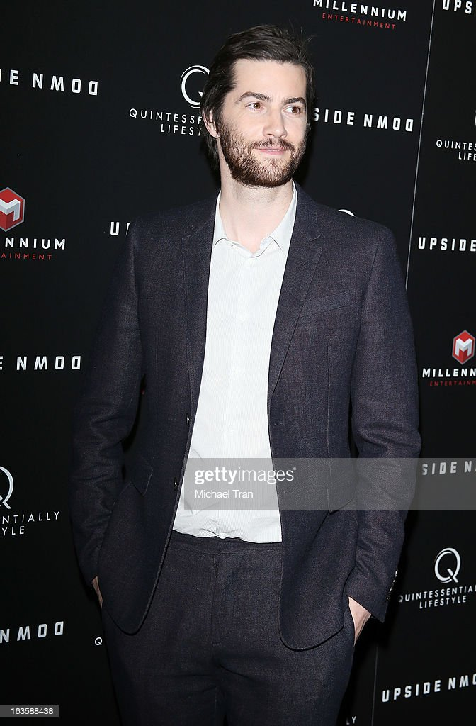 Jim Sturgess arrives at the Los Angeles premiere of 'Upside Down' held at ArcLight Hollywood on March 12, 2013 in Hollywood, California.