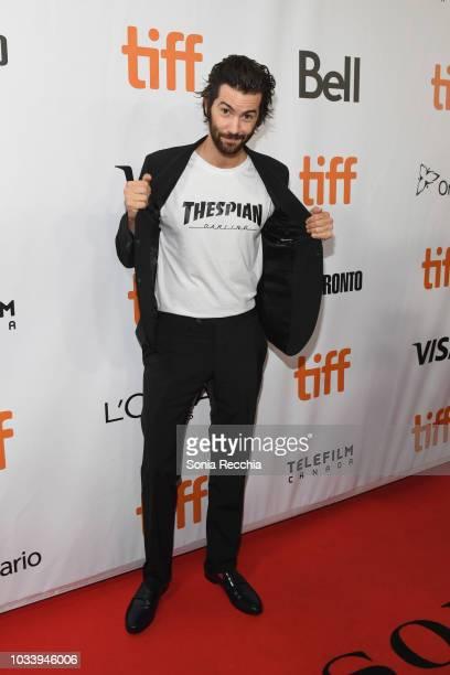 Jim Sturgess attends the 'Jeremiah Terminator LeRoy' Premiere during 2018 Toronto International Film Festival at Roy Thomson Hall on September 15...