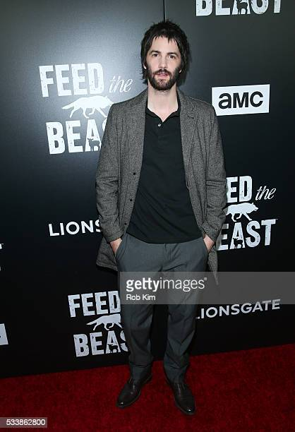 Jim Sturgess attends the New York Screening of 'Feed The Beast' at Angelika Film Center on May 23 2016 in New York City