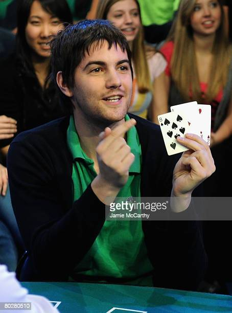 """Jim Sturgess Visits MTV's """"TRL"""" at MTV Studios Times Square in New York on March 17, 2008"""