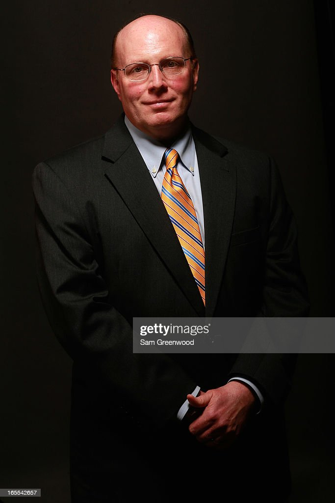 Jim Sullivan, Managing Director, Conferences, Sports Business Journal poses at the World Congress Of Sports Executive Portrait Studio on April 4, 2013 in Naples, Florida.