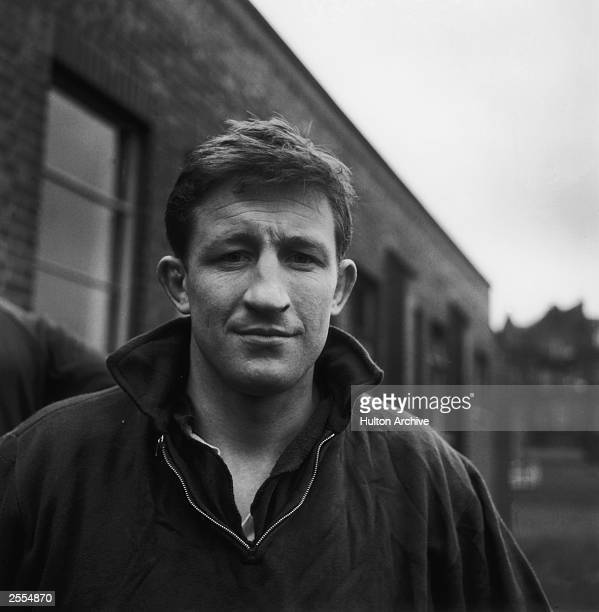 Jim Telfer who plays rugby for Melrose and Scotland circa 1965