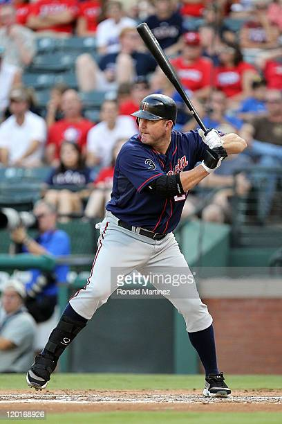 Jim Thome of the Minnesota Twins at Rangers Ballpark in Arlington on July 28 2011 in Arlington Texas