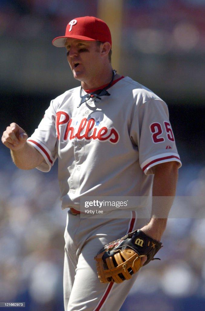 Philadelphia Phillies vs Los Angeles Dodgers - August 8, 2004