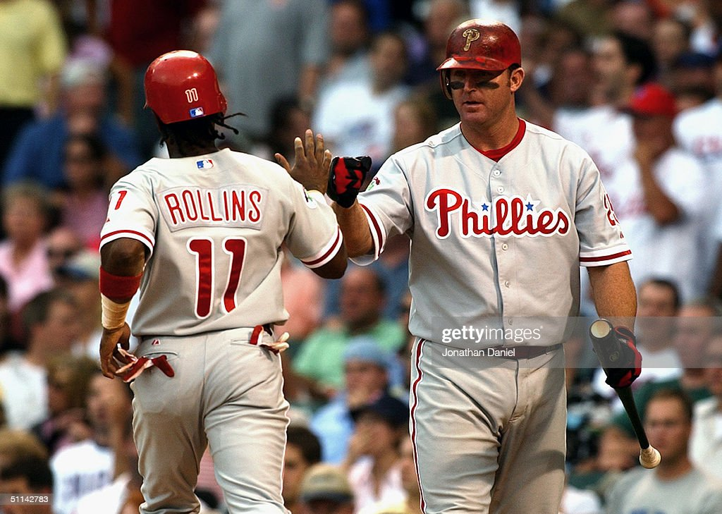 Phillies v Cubs : News Photo