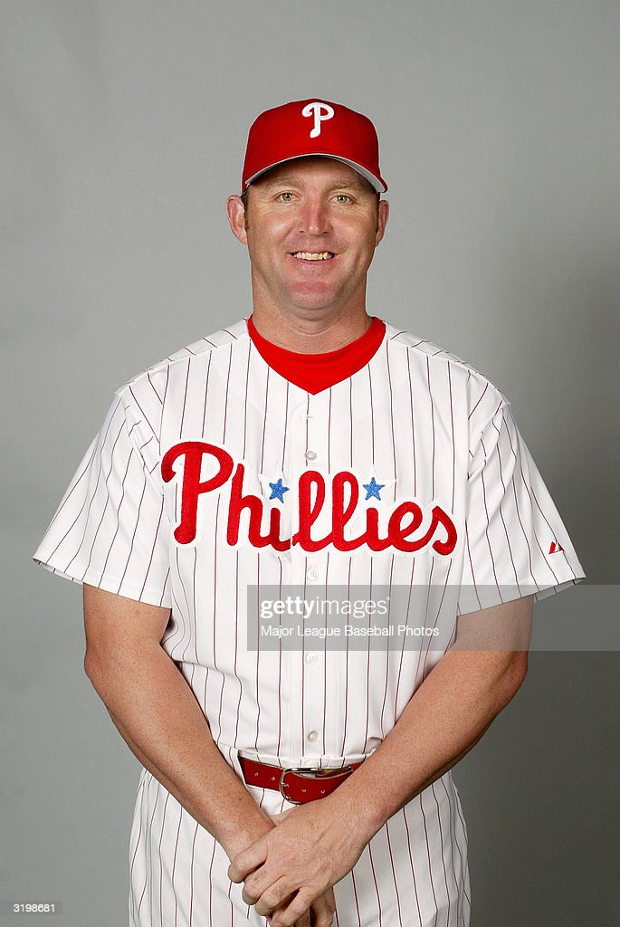 Jim Thome #25 of the Philadelphia Phillies poses for a portrait on February 27, 2004 in Clearwater, Florida.