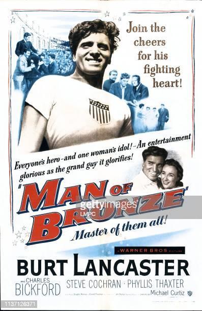 Jim Thorpe Allamerican poster British poster art Burt Lancaster Phyllis Thaxter 1951
