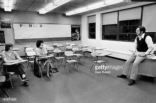 MAR 1981 MAR 12 1982MAR 17 1982 Jim Tomas far right instructs Lisbth Harshbarger a native Swede and Lillian Velasquez a native of Belize Central...