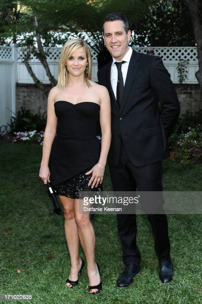 Jim Toth and Reese Witherspoon attend 2013 Los Angeles Dance Project Benefit Gala on June 20, 2013 in Los Angeles, California.