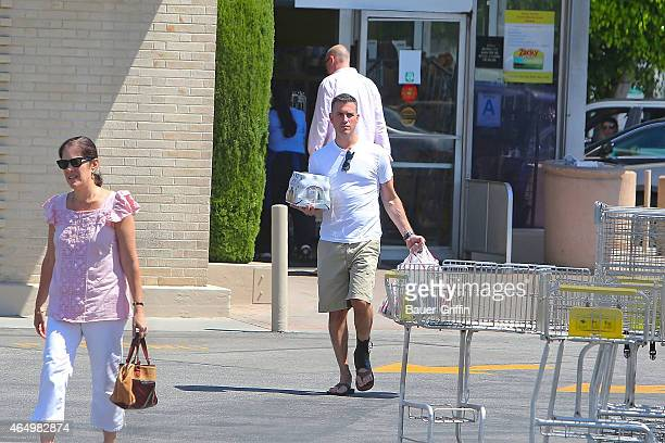 Jim Toth is seen shopping on September 03, 2012 in Los Angeles, California.
