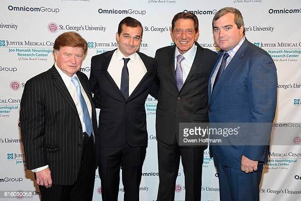Jim Walsh Guest Joe Namath and Guest attend An Evening Honoring Joe Namath at The Plaza Hotel on October 20 2016 in New York City