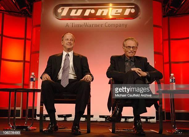 """Jim Walton, president of CNN Worldwide and Larry King, host of """"CNN's Larry King Live"""" 12808_136.jpg"""