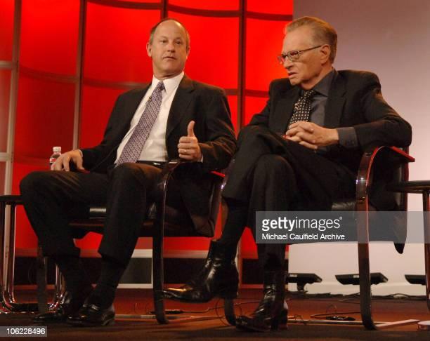 """Jim Walton, president of CNN Worldwide and Larry King, host of """"CNN's Larry King Live"""" 12808_143.jpg"""