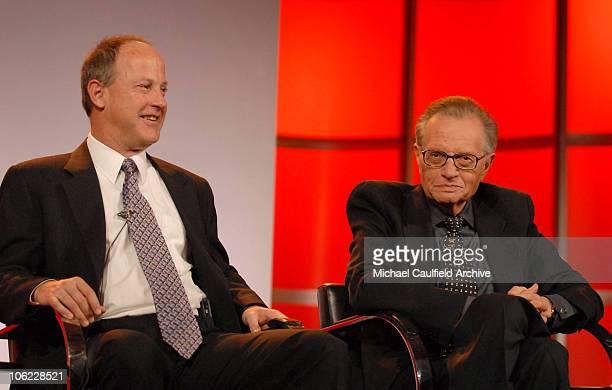 """Jim Walton, president of CNN Worldwide and Larry King, host of """"CNN's Larry King Live"""" 12808_325.jpg"""