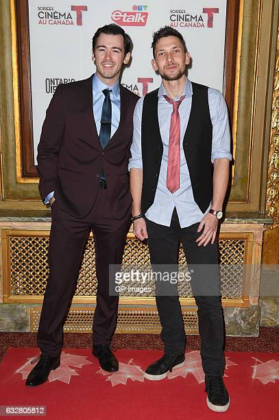 Jim Watson and Kyle Mac attend Canada's 150th Anniversary in Pictures at Elgin and Winter Garden Theatre Centre on January 26 2017 in Toronto Canada
