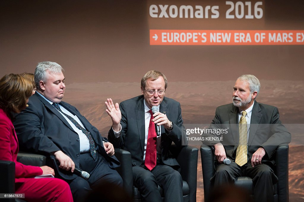 GERMANY-RUSSIA-EUROPE-SPACE-SCIENCE : News Photo