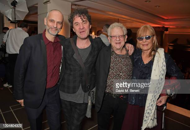 Jim Wilson Mark Cousins Jeremy Thomas and Ludovica Barassi attend the BFI Chairman's dinner awarding Tilda Swinton with a BFI Fellowship at Rosewood...