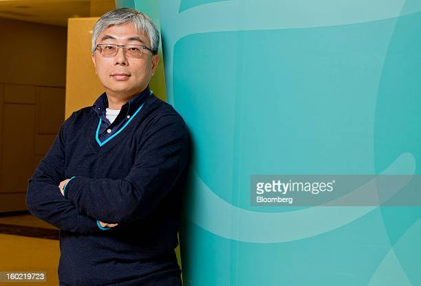 Jim Wong, president of Acer Inc., stands for a photograph in Taipei, Taiwan, on Friday, Jan. 25, 2013. Acer, the Taiwanese computer maker that's...