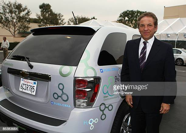 Jim Wyatt of William Morris arrives at Chevy Rocks The Future at the Buena Vista Lot at The Walt Disney Studios on February 19 2008 in Burbank...