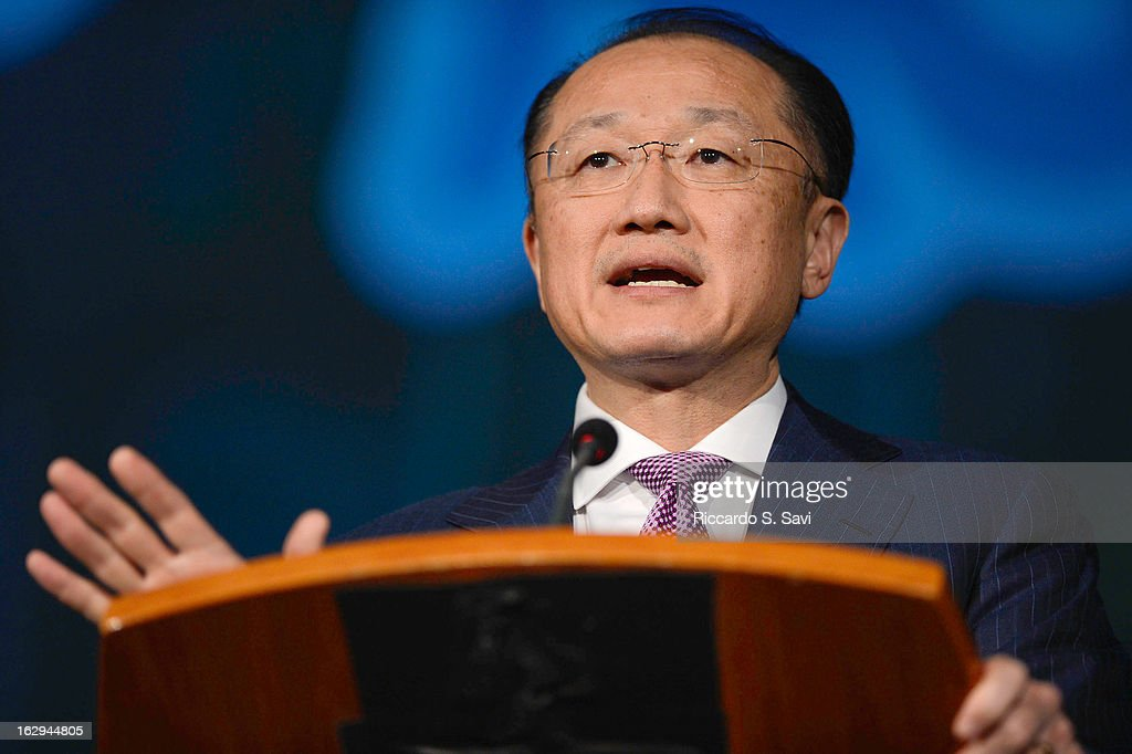 Jim Yong Kim President of the World Bank,speaks Connect4Climate: Right Here, Right Now at The World Bank on March 1, 2013 in Washington, DC.