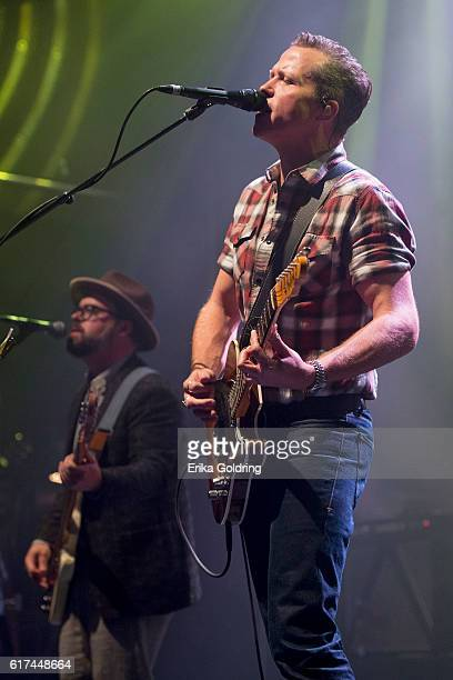 Jimbo Hart and Jason Isbell perform at The Joy Theater on October 22 2016 in New Orleans Louisiana