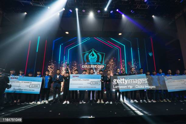 Jimei University from China won the 2019 League of Legends International College Cup during Hong Kong e-Sports & Music Festival on July 28, 2019 in...