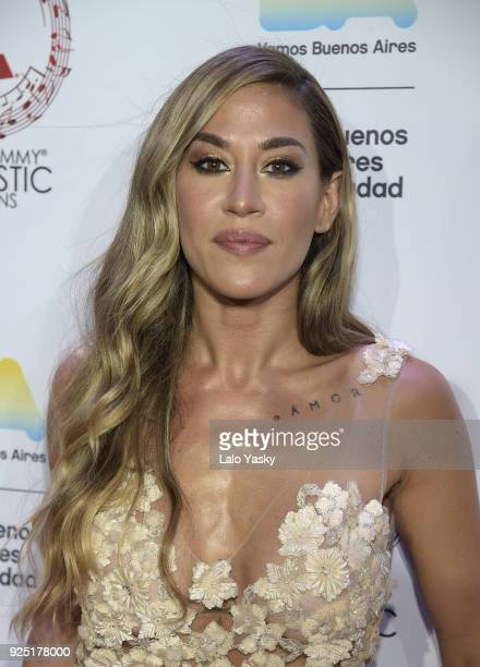 Jimena Baron Attends The Latin Grammy Acoustic Session Red Carpet Photocall At Usina Del Arte On