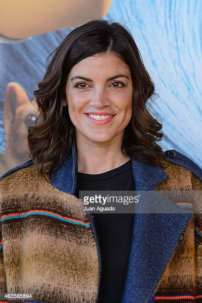 Jimena Mazzuco attends the 'Bob Esponja' Premiere at Kinepolis Cinema on January 31 2015 in Madrid Spain