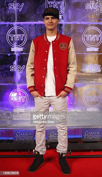 Jimi Blue Ochsenknecht attends 'Games of Thrones' Preview Event of TNT Serie and Sky at Hotel Bayerischer Hof on October 27, 2011 in Munich, Germany....
