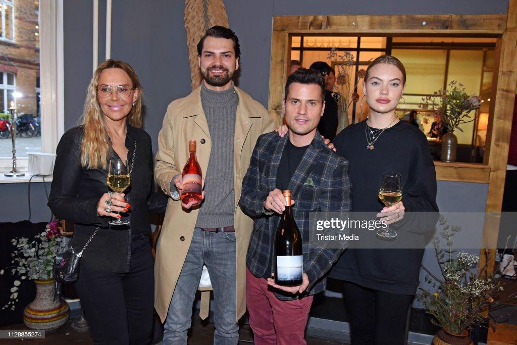 DEU: Jimi Blue Ochsenknecht Presents His Own Wines In Berlin