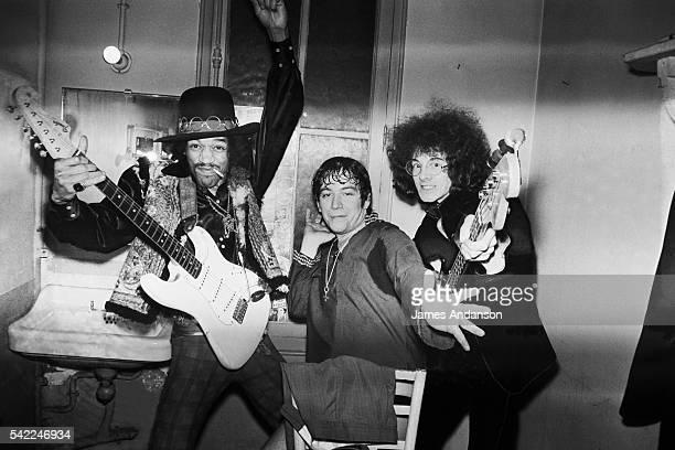 Jimi Hendrix Eric Burdon Noel Redding