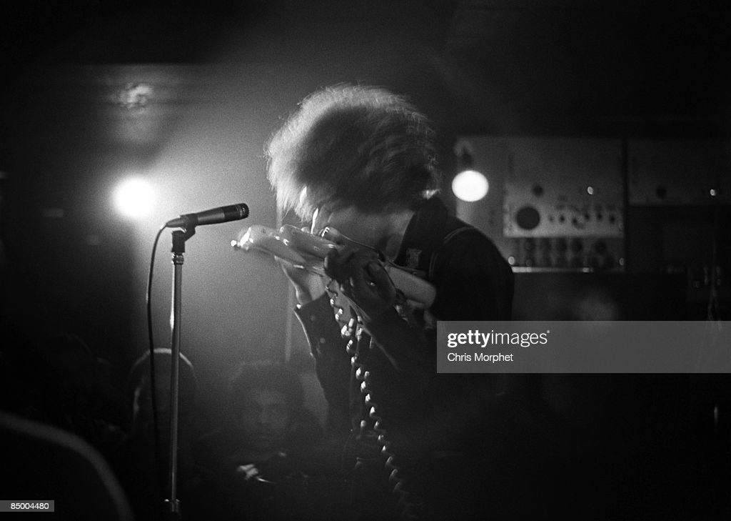 SPEAKEASY Photo Of Jimi HENDRIX Performing Live Onstage At The Speakeasy In Margaret Street London