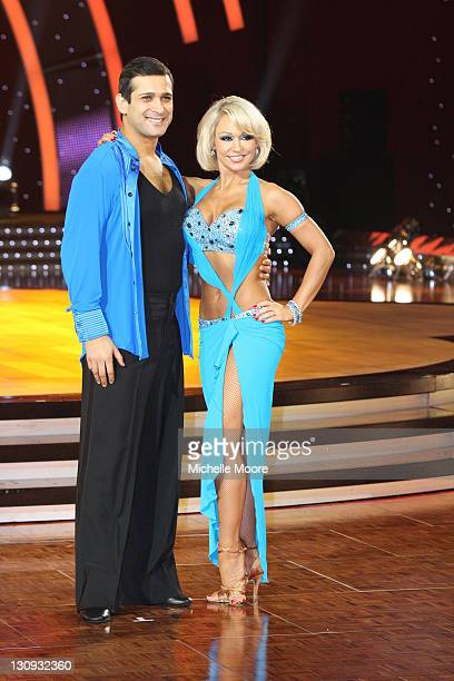Jimi Mistry and Kristina Rihanoff attend a photocall ahead of the Strictly Come Dancing Live Tour 2011 at Nottingham Capital FM Arena on January 14...