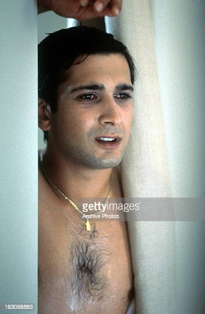 Jimi Mistry gets out of the shower in a scene from the film 'The Guru' 2002