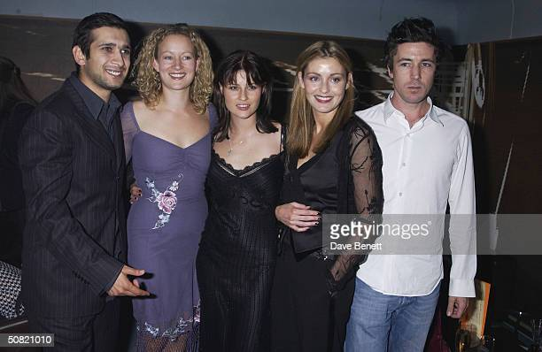 Jimi Mistry Lorraine Pilkington Emma Catherwood Louise Lombard and Aidan Gillen attend the UK Premiere of My Kingdom at The Odeon Cinema on September...