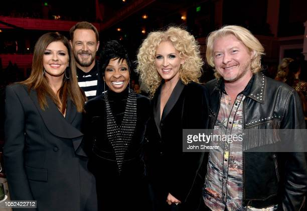 Jimi Westbrook and Karen Fairchild of musical group Little Big Town Gladys Knight Kimberly Schlapman and Phillip Sweet of musical group Little Big...
